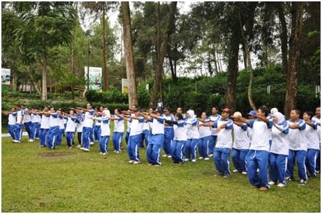 Outbound Bandung Lembang - oposite1