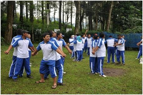 Outbound Bandung Lembang - people2